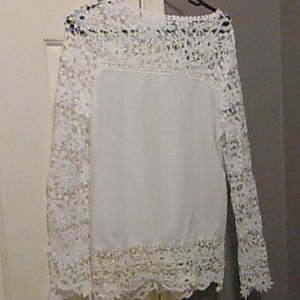 Never worn boho blouse light and loose